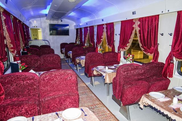 قطار نورالرضا - رستوران - علیبابا