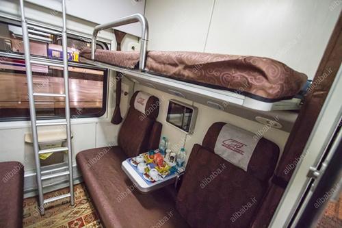 قطار نورالرضا - تخت - علیبابا