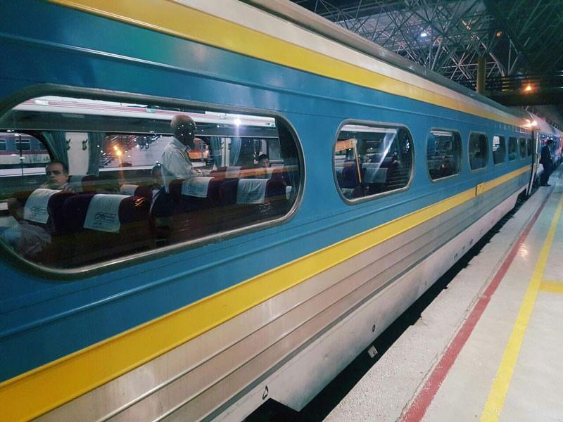 قطارهای ریل ترابر سبا ـ علی بابا
