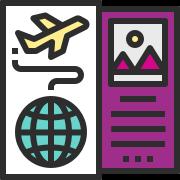 پوشش کامل خدمات سفر (بلیط و هتل)